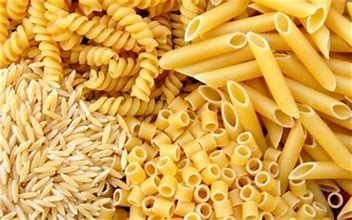 cereal grains and pasta