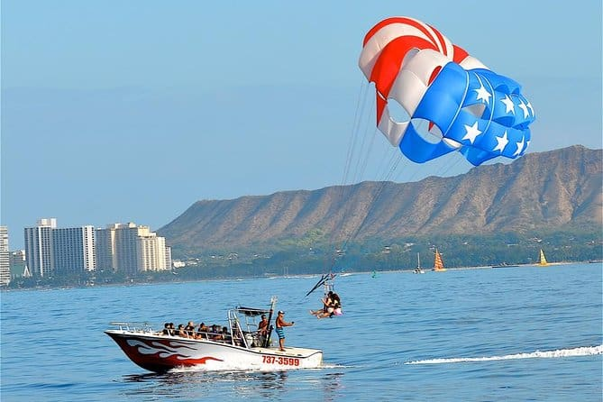 experience gifts parasail