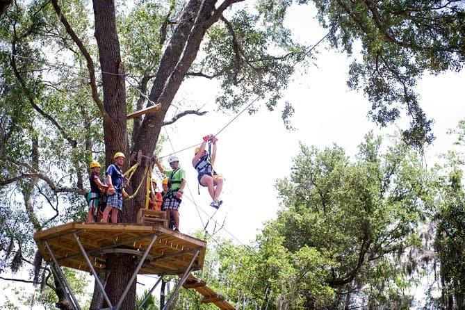 experience gift ziplining
