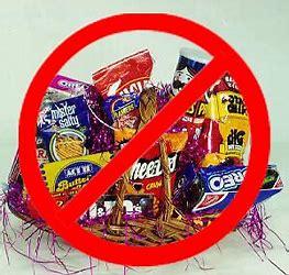 not healthy foods