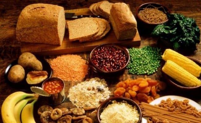 healthy foods contain fiber